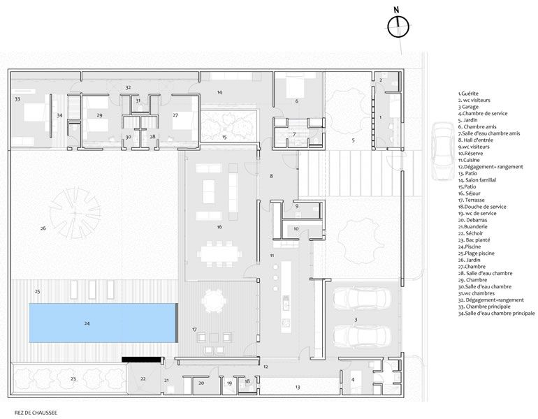 Koffi  Diabaté Group Villa Areca II Arquitectura Pinterest