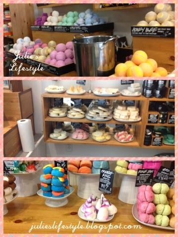 Julie's Lifestyle: Makeup Monday - LUSH Handmade Cosmetics