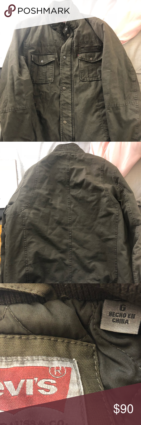 Levis men jacket Great condition Levi's Jackets & Coats