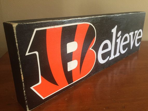 cincinnati bengals sign who dey sign believe by woodnexpressions
