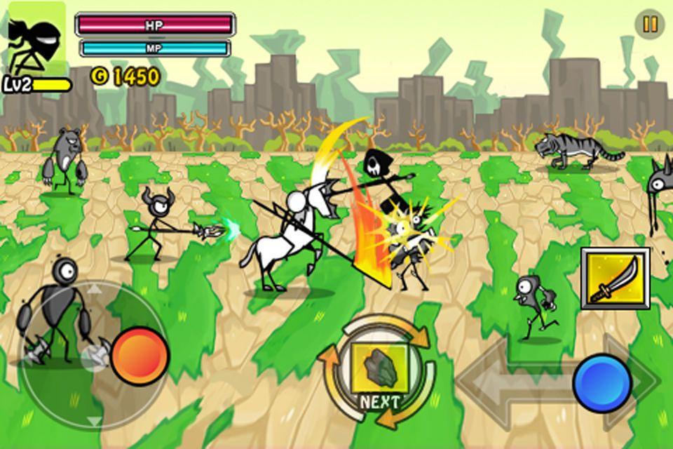 Cartoon Wars 2 Heroes Arcade Games Ios Strategy War Cartoon Game Resources