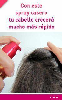 spray para cabello casero
