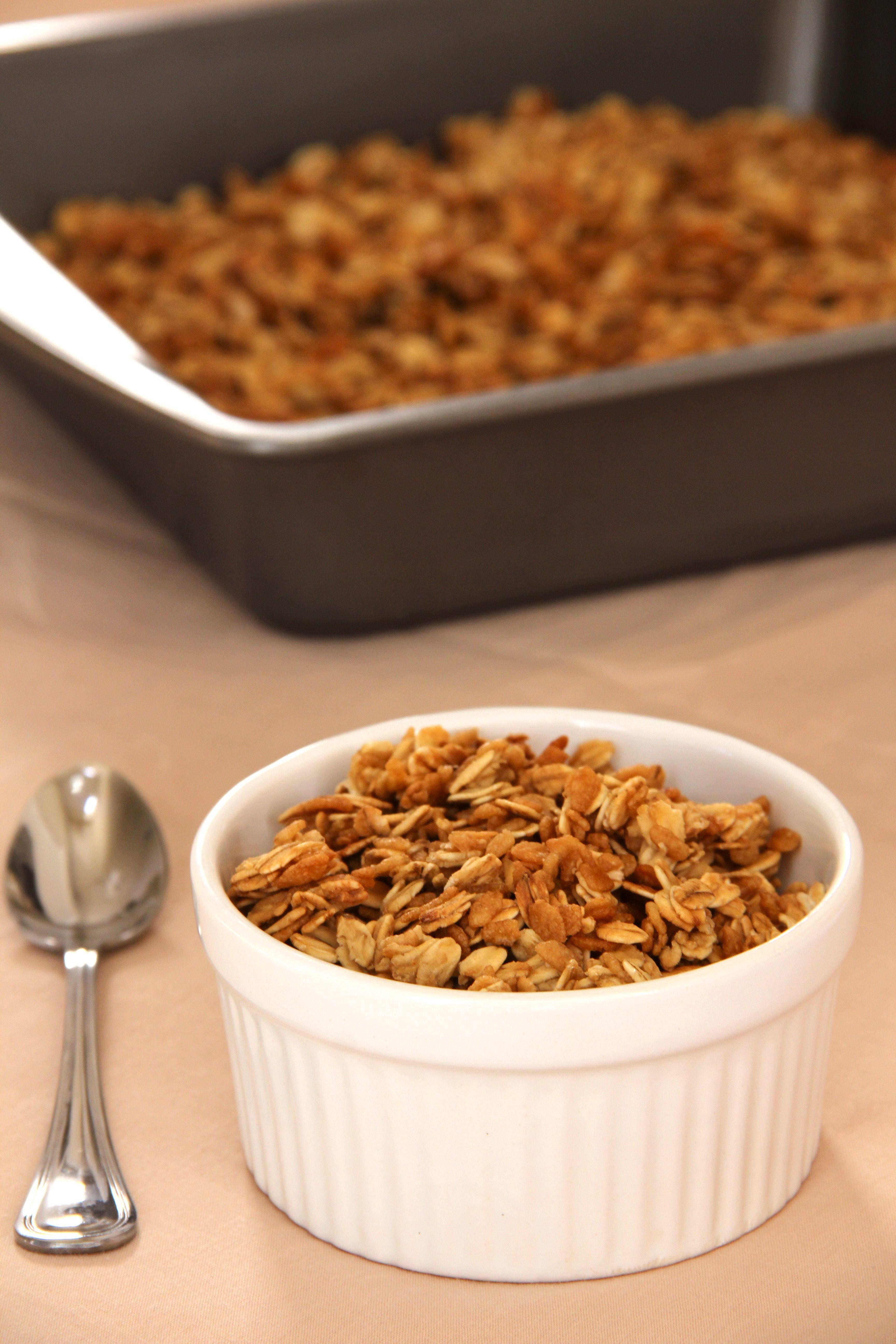 Granola Muesli Low Calorie Granola Brownie Recipes Healthy Healthy Baking