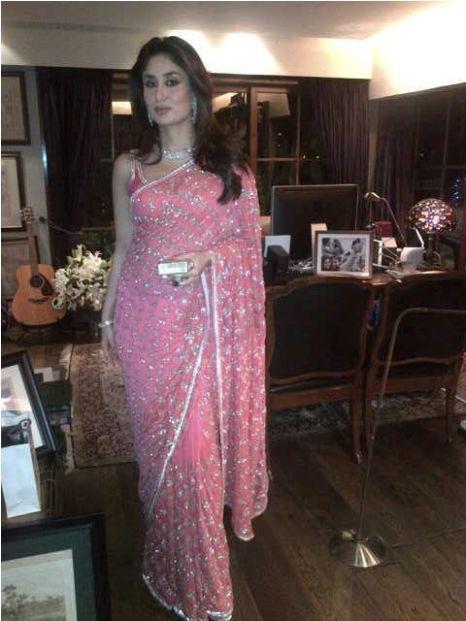 Makeup Looks Kareena Kapoor Wedding Indian Sari Dress Saree Look Elegant Saree