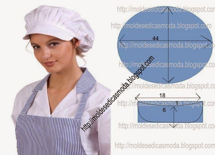 A touca é hoje em dia um elemento obrigatório em muitas actividades  profissionais como por exemplo na cozinha 8ed1650a74cb2