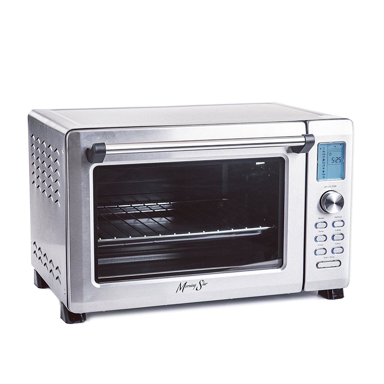 Morning Star Infrared Xl Capacity Countertop 12 Slice Digital Convection Toaster Oven Polished Sta Toaster Oven Convection Toaster Oven