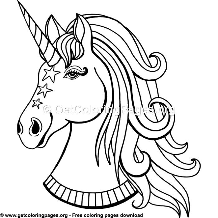 131 Rainbow Unicorn Coloring Pages | Adult Coloring Pages ...