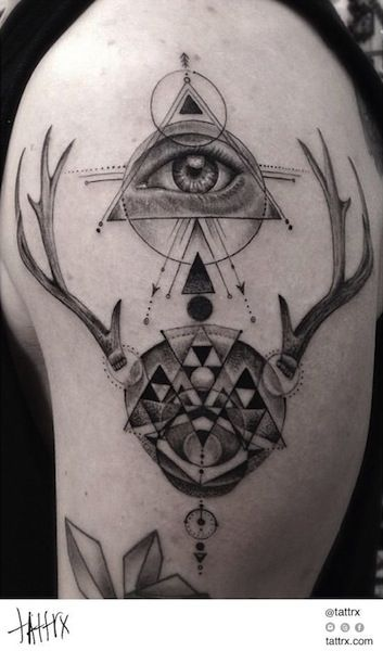 Dr Woo Tattoo Shamrock Specialty Fine Line Black Grey