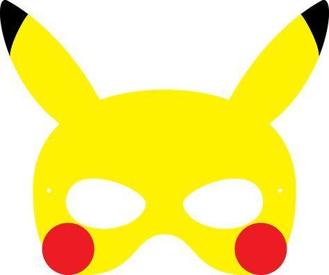 Delightful Pokemon Pikachu Mask More