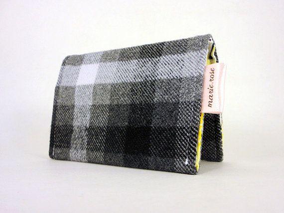 Étui portecartes avec pochettes en plastique par CreationMarieRose, $13.00