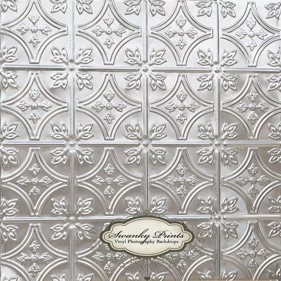 Silver Tile - Oz Backdrops and Props