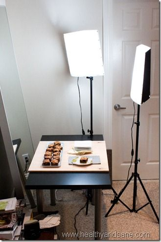 Indoor food photography with artificial lighting   Blogging