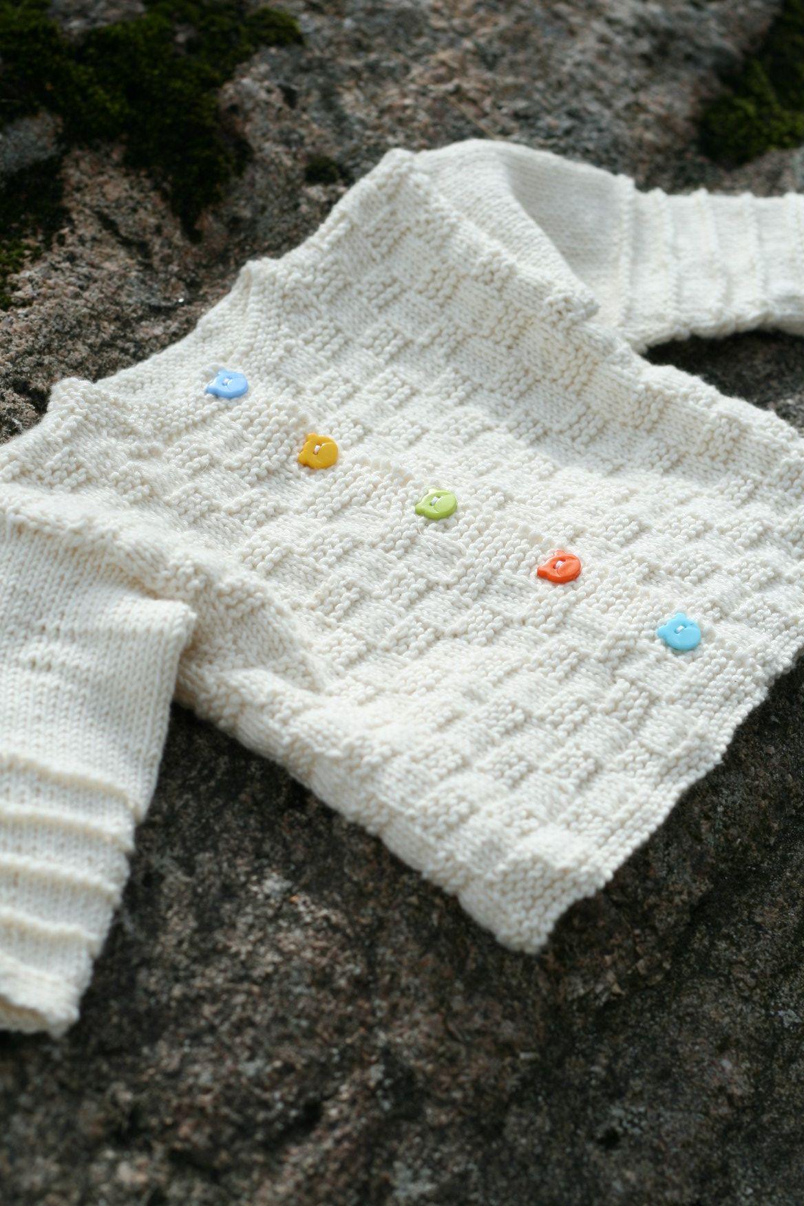 Knit a seamless Baby Cardigan! | tejidos | Pinterest | Tejido, Dos ...