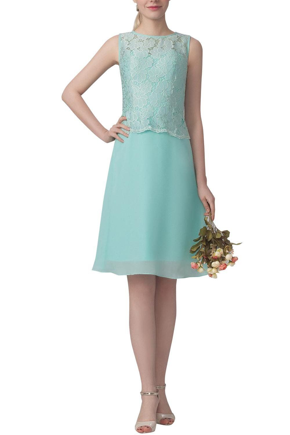 ORIENT BRIDE Short Wedding Party Dress Homecoming Dress Lace ...