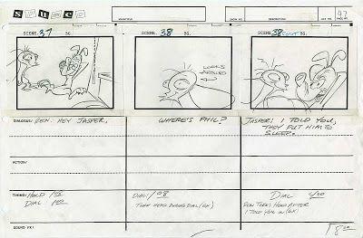 Cartoon Concept Design Ren And Stimpy Big House Blues Part