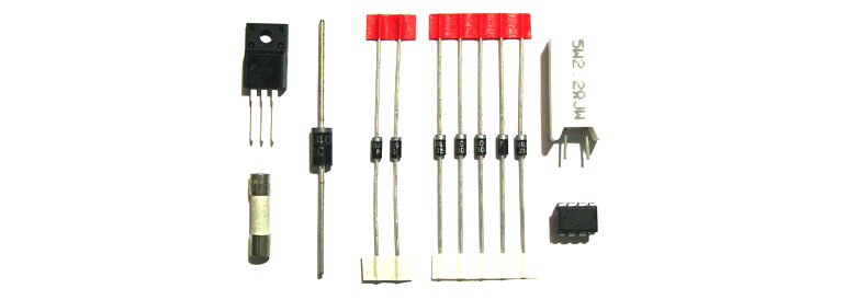 Vestel 18PW14-1 Power PCB Repair Kit | Repair Kits | Kit