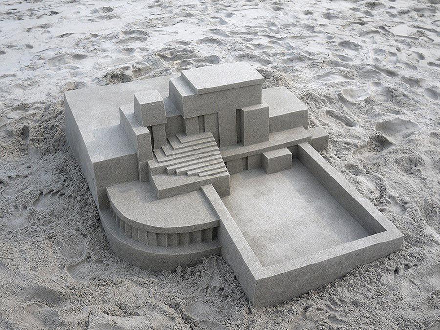 Moderne Sandburg-Architektur Calvin-Seibert-Sandcastles_02