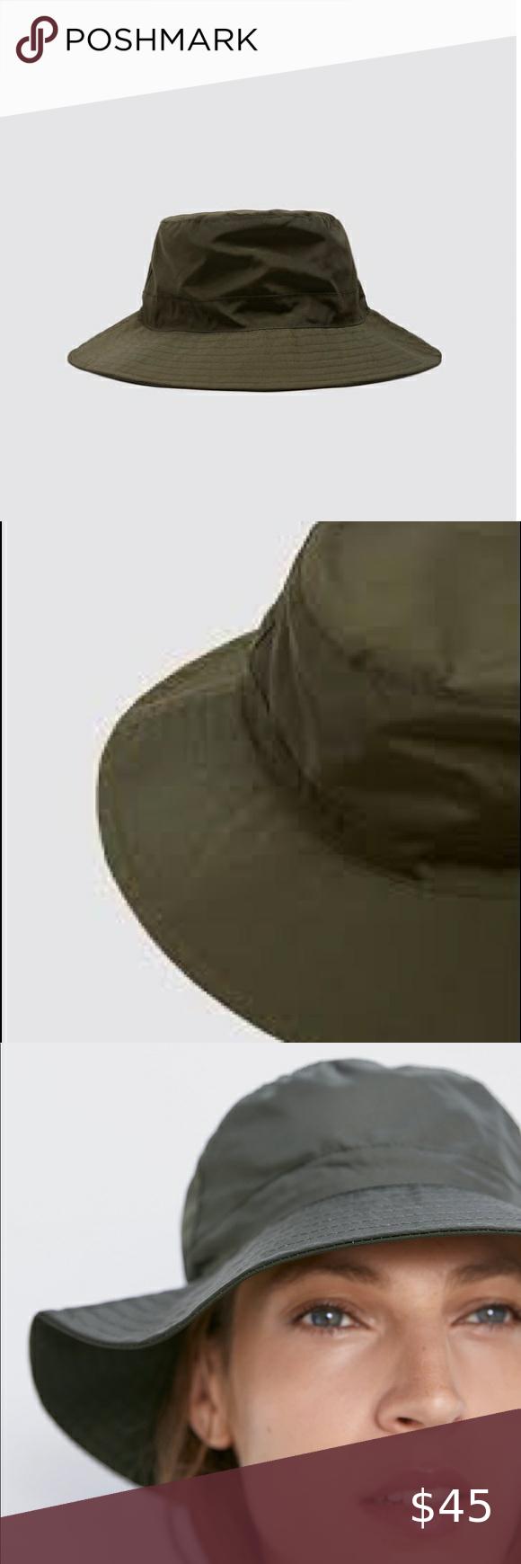 Zara Green Bucket Hat Zara Bucket Hat Women Accessories Hats