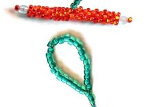 Beaded Toggle and Loop by Jean Power