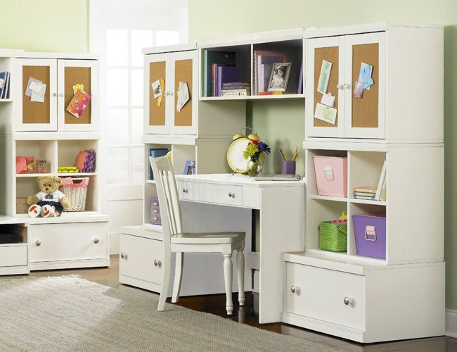 Surprising The Furniture Kids Wall Unit With Study Desk From Bear Largest Home Design Picture Inspirations Pitcheantrous