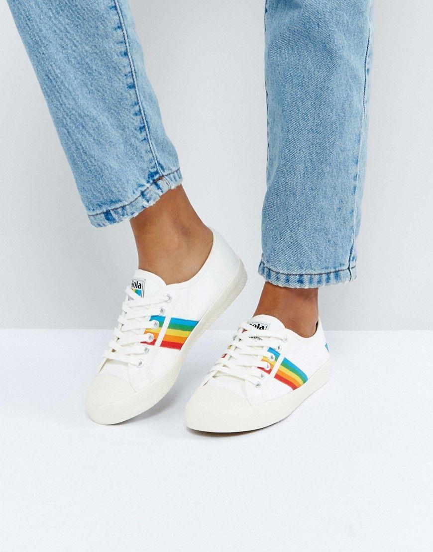 Rainbow sneakers, Sneakers, Pride shoes