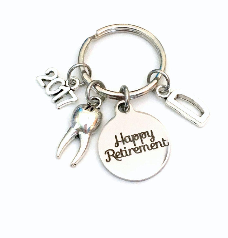 Retirement Gift For Dentist Keychain    Dental