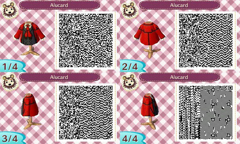 Animal Crossing New Leaf Alucard Qr Code By Techiewidget