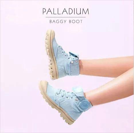Blue sky . Palladium boots   Palladium shoes, Palladium ...