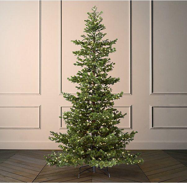 Starlit Faux Shasta Fir Tree With Illuminate Techonology Starry Lights Fir Christmas Tree Noble Fir Tree Starry Lights