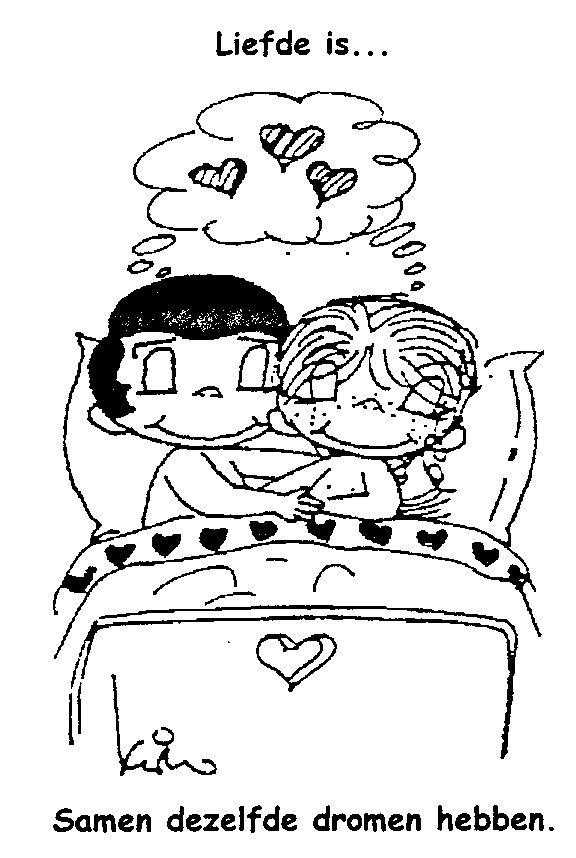 Vaak Liefde is...samen dezelfde dromen hebben. | Just the way love is &SB14