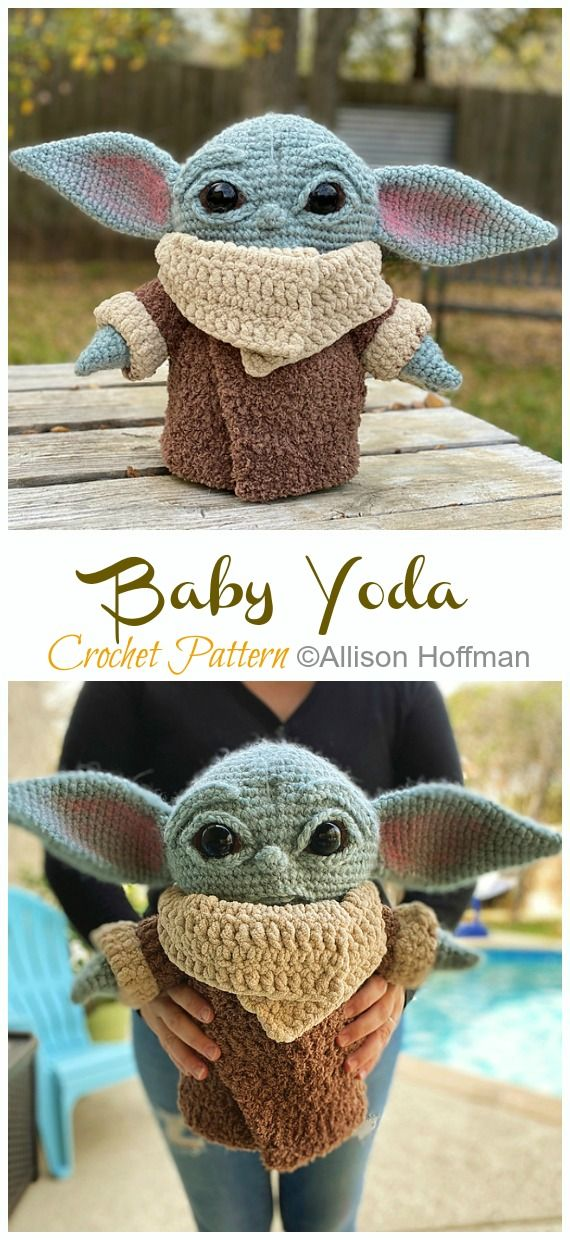 10 Amigurumi Yoda Crochet Patterns – Crochet & Knitting