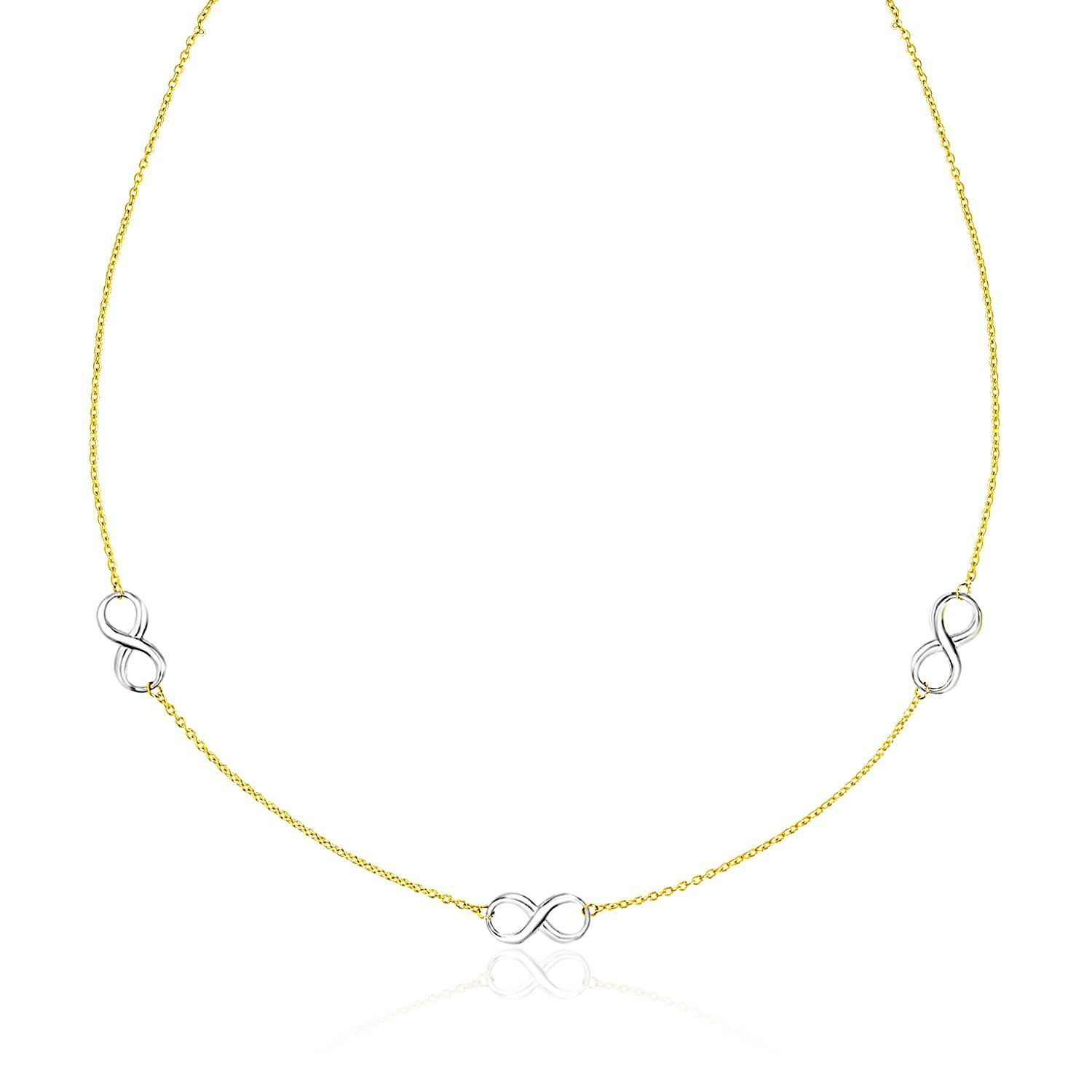 product archives set gold infinity yellow initial chains chain with img category