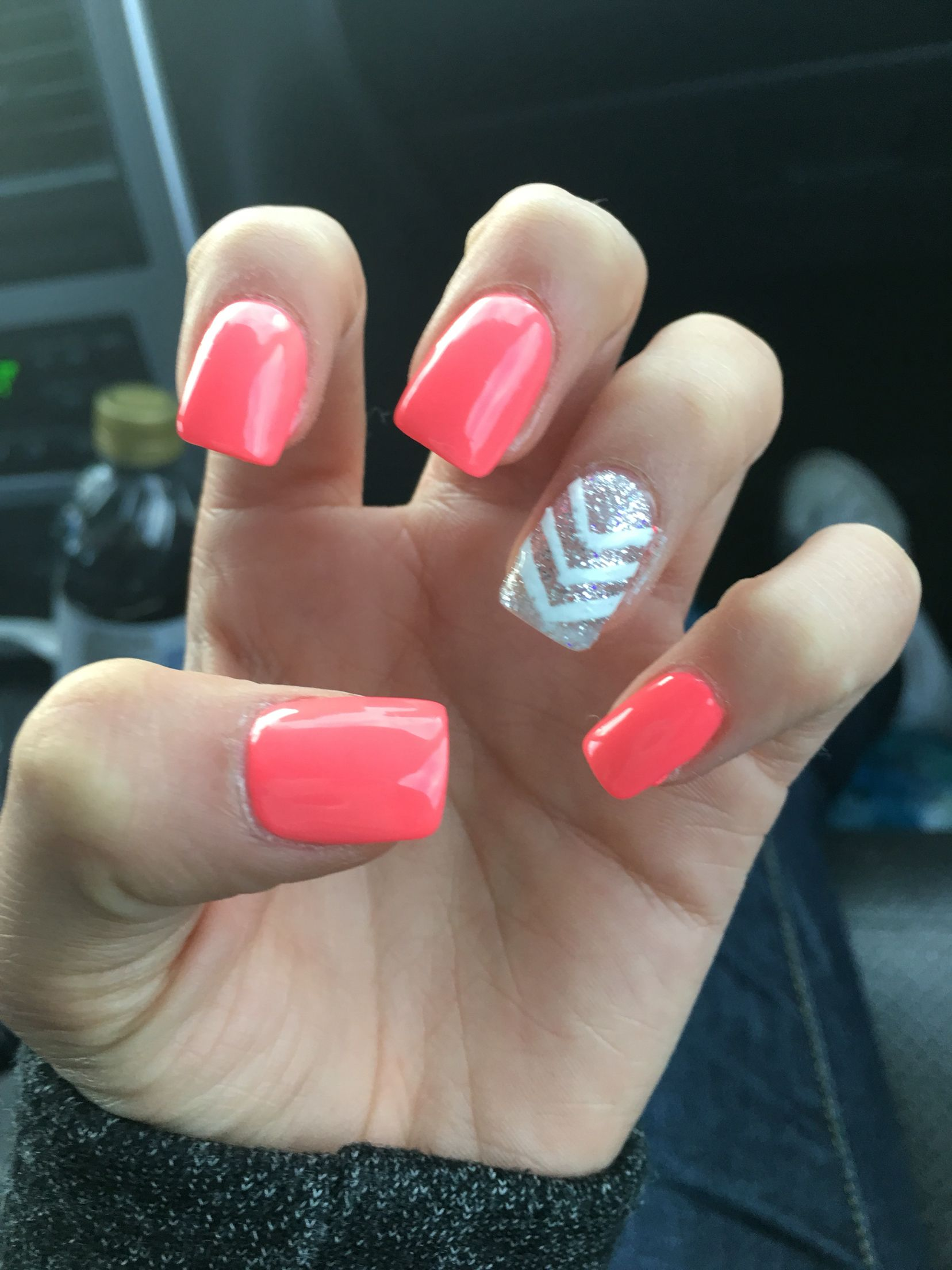 I love my Pink acrylic nails | Nails | Pinterest | Pink acrylic ...