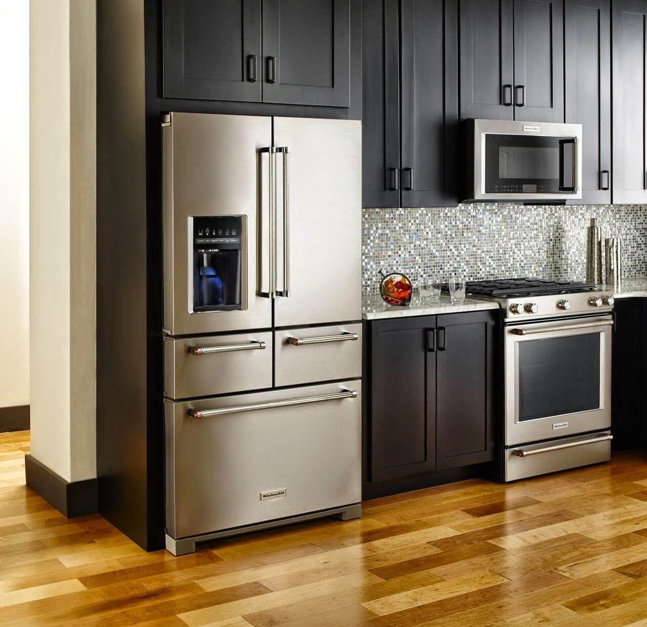 2015 kitchenaid 5 door fridge kitchen aid appliances