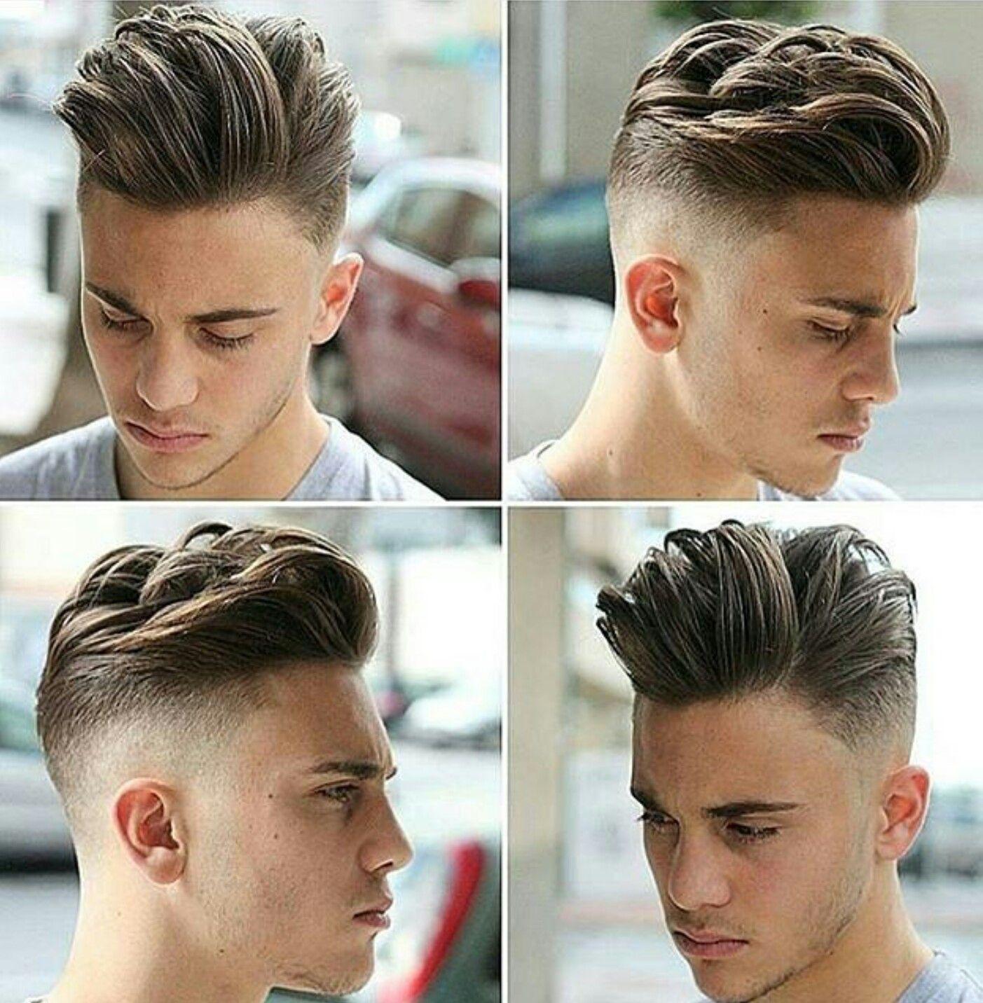 Mens hair Tunsori Pinterest