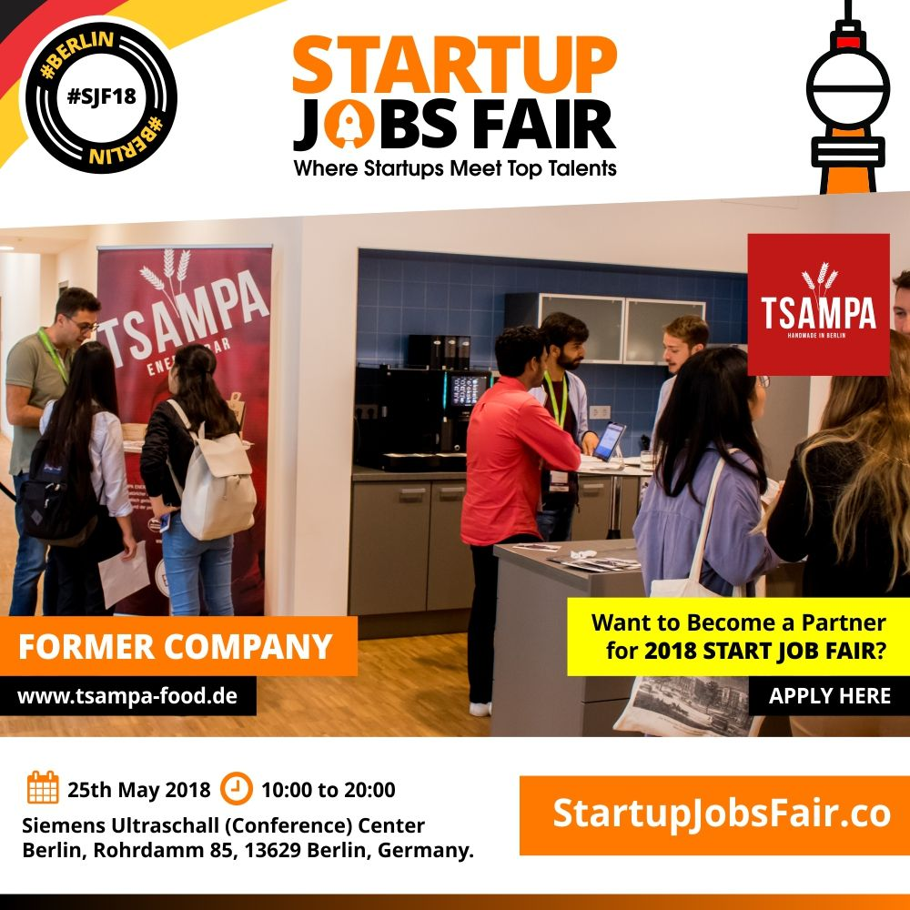 Pin by Germany Startup Jobs on Germany Startup Jobs | Job fair ...