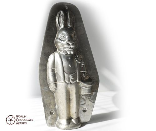 Anton Reiche Antique Chocolate Mold Mould Moule Schokoladenform Wedding Rabbit