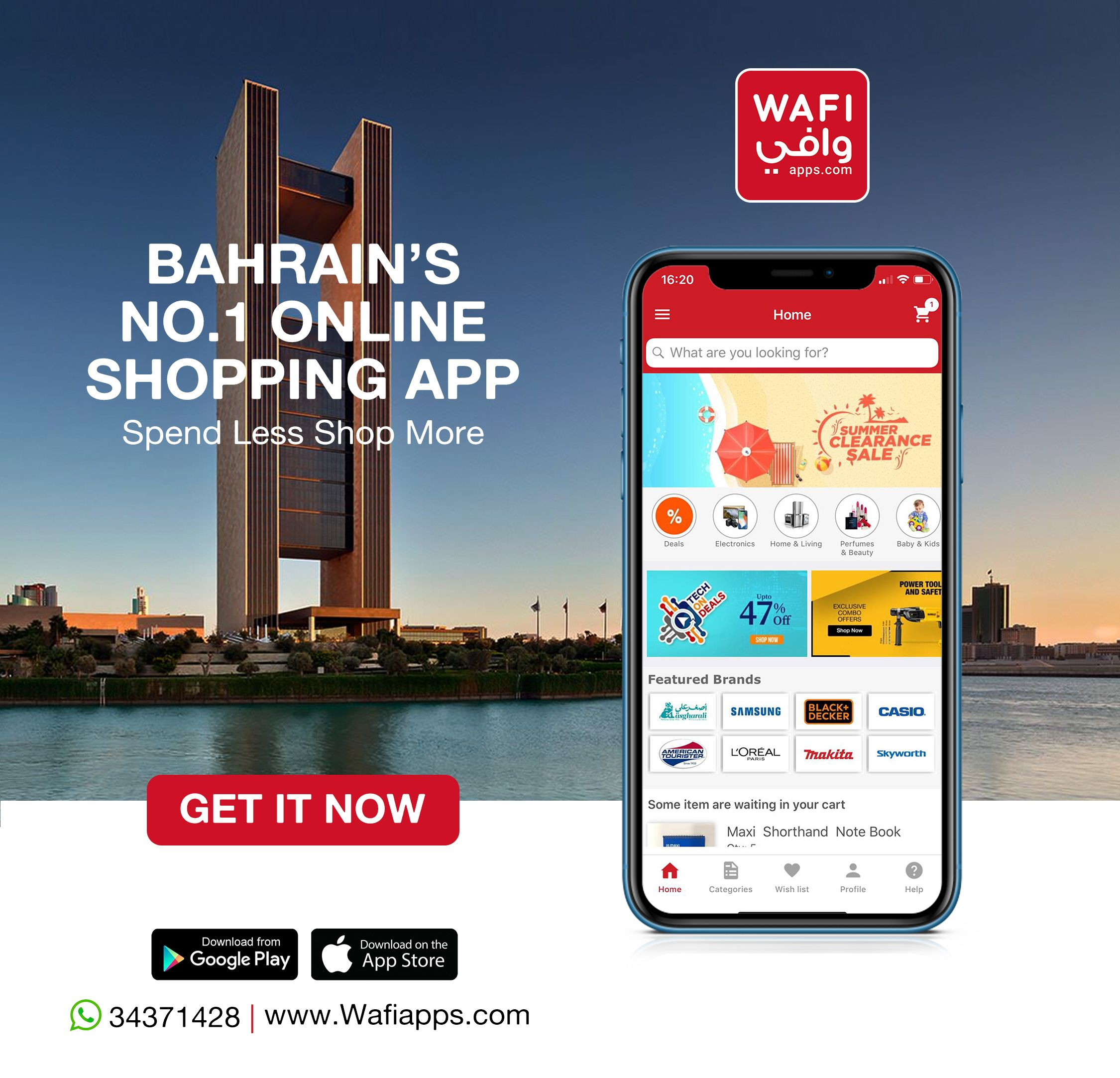 Be a part of Bahrain's Largest Online Shopping App! One