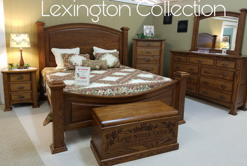Lexington Bedroom Collection, Solid Oak Wood. Bedroom