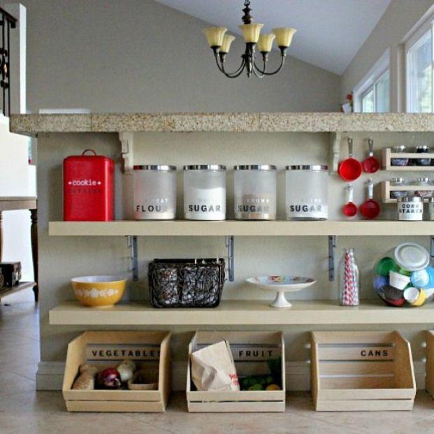 kitchen storage convert unused space under a breakfast bar into extra kitchen storage kitchen on kitchen organization diy id=48735