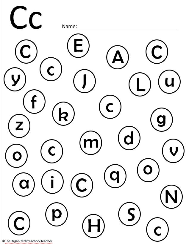 letter c unit letter of the week bundle letter e alphabet tracing dot letters. Black Bedroom Furniture Sets. Home Design Ideas