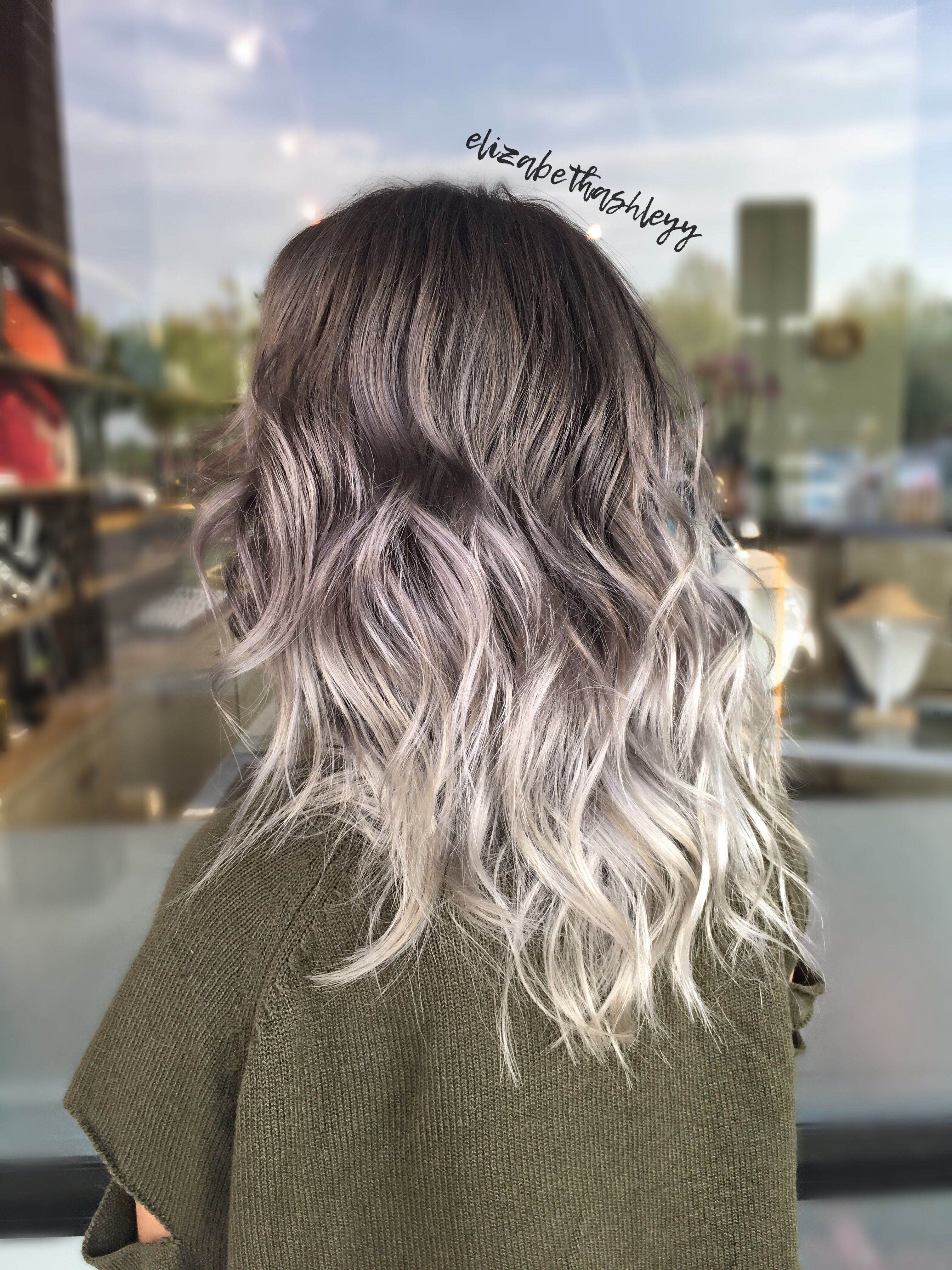 Balayage Silver Balayage Silver Ombr 233 Grey Silver Hair