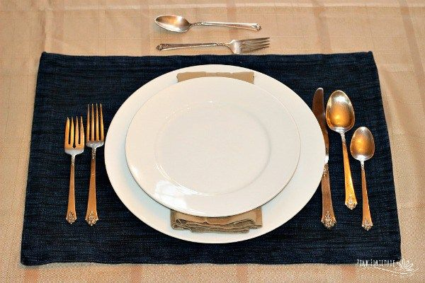 How to Set a Formal Table | Dining etiquette, Table ...