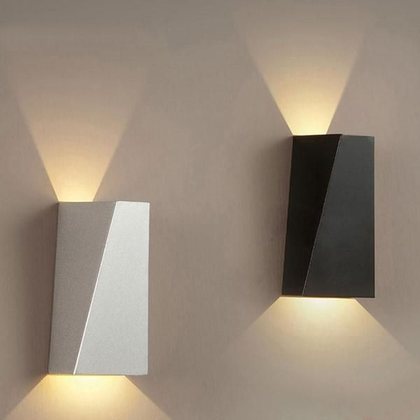 Modern Geometric Wall Lamp #modernlightingdesign
