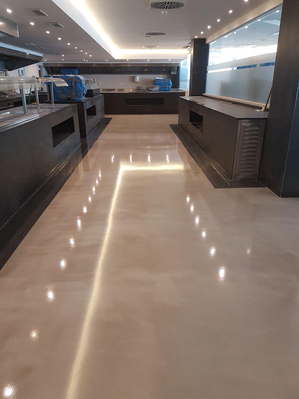 Commercial Epoxy Floors   Industrial flooring, Epoxy floor ...