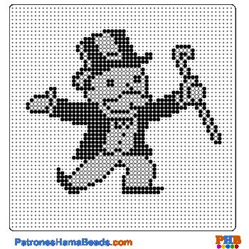 Monopoly plantilla hama bead. Descarga una amplia gama de