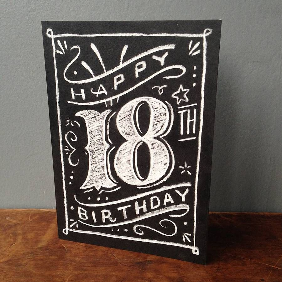 18th 21st 30th 40th 50th 60th 70th 80th Birthday Card