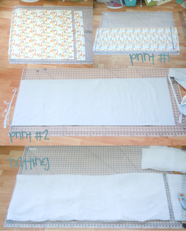 DIY Toddler Bedding {making A Quilt With Batting WITHOUT