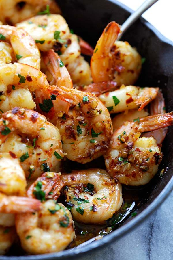 Chili Garlic Shrimp Gambas Al Ajillo The Best Shrimp Appetizer Recipe You Ll Make This Spanish Chili Ga Shrimp Appetizer Recipes Recipes Appetizer Recipes