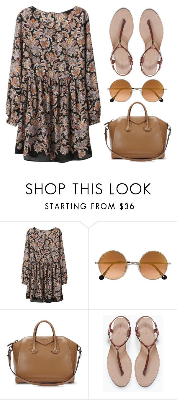 """""""Boho"""" by kazuichi ❤ liked on Polyvore featuring Elizabeth and James, Givenchy and Zara"""